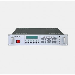 Four-way HD mobile video receiving voice dispatching machine