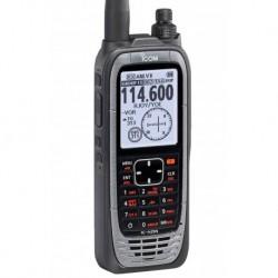 Walkie Banda aérea Icom IC-A25NE con GPS y Vor